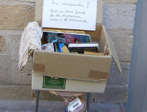 Books and donations…