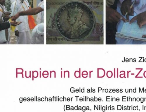 "Out now! ""Rupien in der Dollar-Zone"""