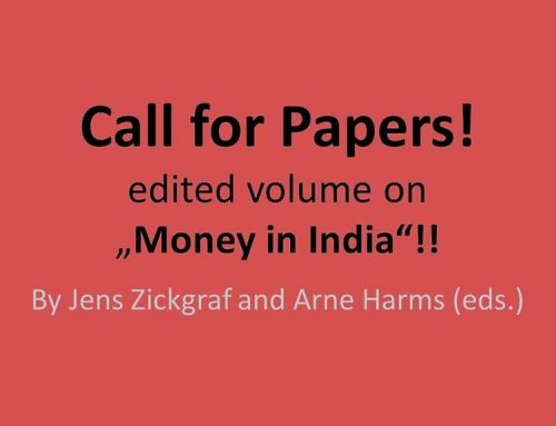 "Call for Papers – edited volume ""Money in India"""